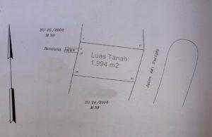 Dijual Tanah di Oesapa Kota Kupang (lokasi 3)