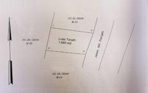 Dijual Tanah di Oesapa Kota Kupang (lokasi 2)