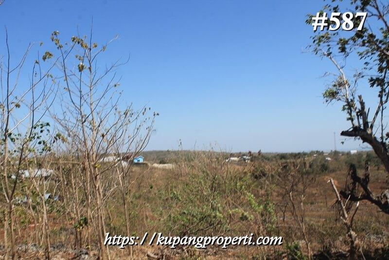 #587 Dijual Tanah Dekat Perumahan di Naioni Kupang